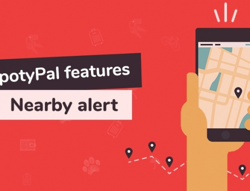 SpotyPal features: Nearby alert