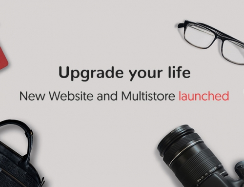 New Website and Multistore launched