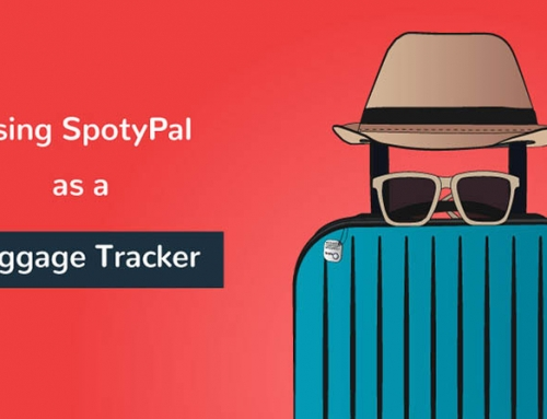 Using SpotyPal as a luggage tracker