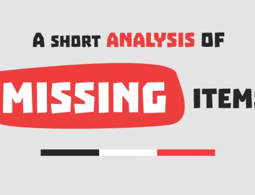 Missing Items: Facts & Statistics (Infographic)