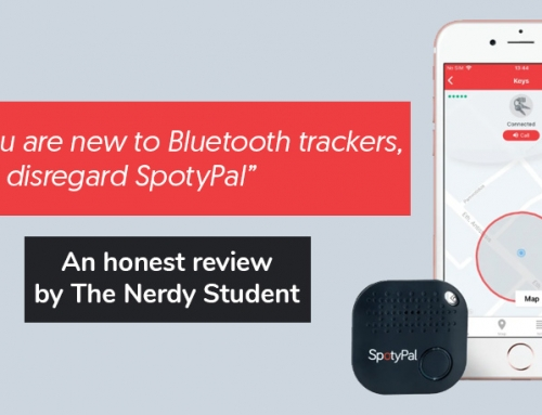 "SpotyPal was reviewed by ""The Nerdy Student"""