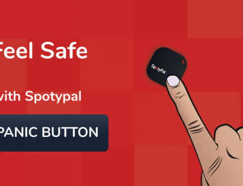 Feel safe with SpotyPal Panic Button