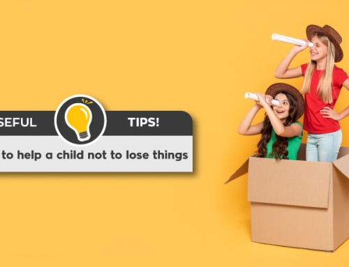 How to help a child not to lose things