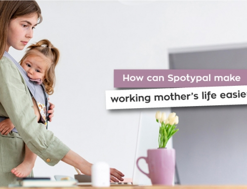 How can Spotypal make working mother's life easier?