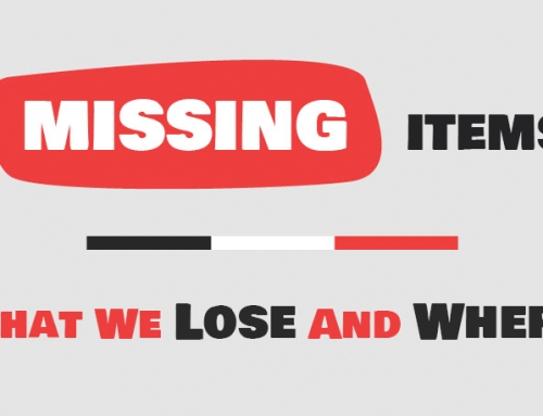 Missing Items: What We Lose And Where