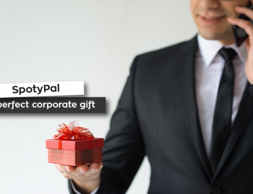 SpotyPal is the perfect corporate gift!