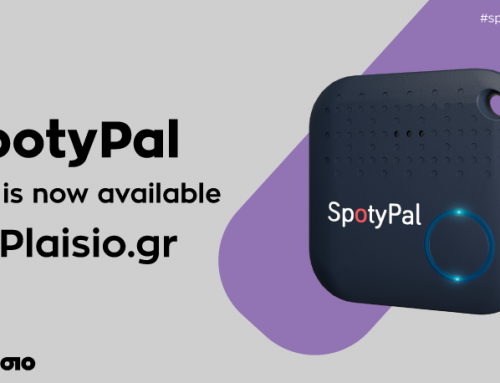 SpotyPal is now available at Plaisio.gr