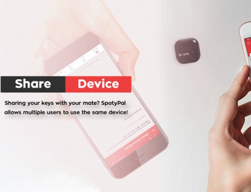Share device: Sharing your keys with your mate? SpotyPal allows multiple users to use the same device.